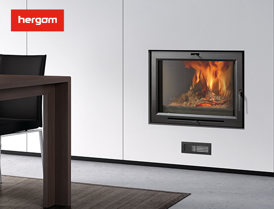 H03 系列带风暖嵌入式燃木壁炉(豪宅壁炉)