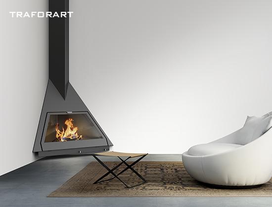 FOXI-燃木壁炉