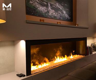 莫洛尼顶级全新3D雾化壁炉