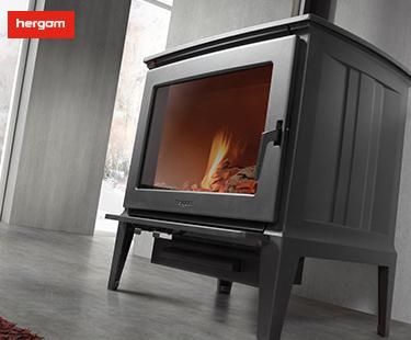 E30系列独立式燃木壁炉(别墅壁炉)