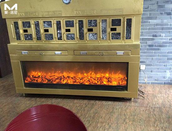 【上海】志铭实业烤鱼炉电壁炉芯450套订单