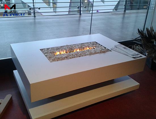 【福建厦门】国贸天琴湾安装我司1米2长3D雾化电壁炉