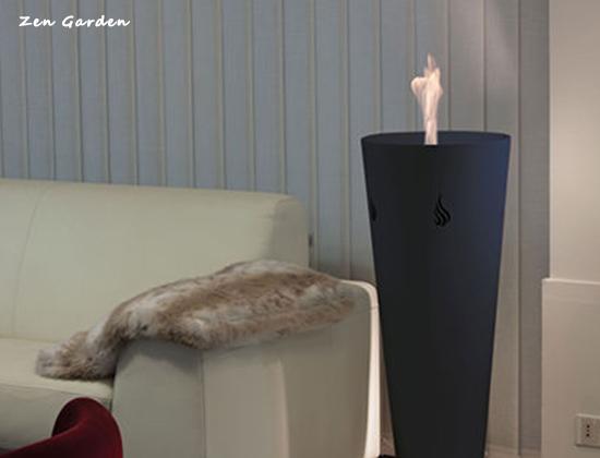 【山东威海】香庭海岸办公室安装我司三套景观壁炉