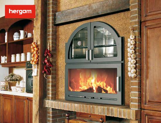 西班牙纯进口ARANDA带烤箱燃木壁炉(别墅专享)