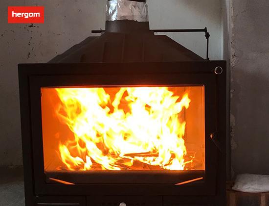 【浙江省杭州市】高姐采购我司HGB-70燃木壁炉一台