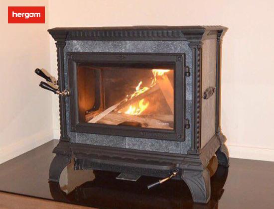 【浙江省杭州市】王总采购我司HERITAGE 黑色燃木壁炉一台