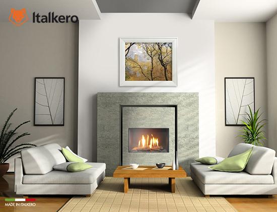 意大利Italkero燃气壁炉 firenze70型(豪宅壁炉)