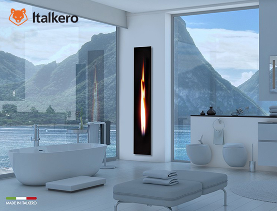 Mirror flame型燃氣壁爐