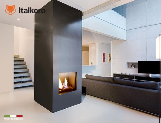意大利Italkero燃气壁炉 portofino 50型(别墅壁炉)