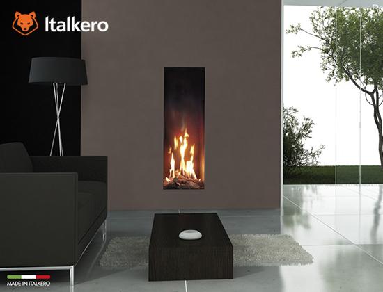 意大利Italkero燃气壁炉 Roma 50型(样板间壁炉)