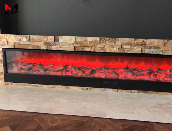 【杭州市滨江区】大都会凡尔赛宫易总采购我司成品电壁炉