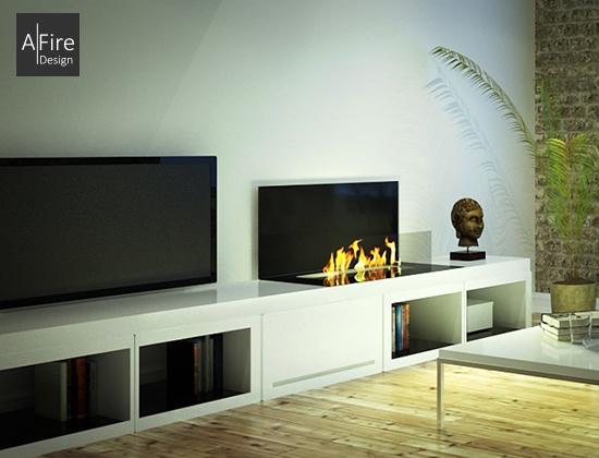 英国A-fire 酒精壁炉品牌LOFT系列