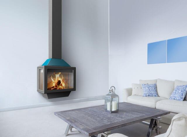 你家花了很多钱为何显不出高级感?缺壁炉,对,缺一台现代化的燃木壁炉