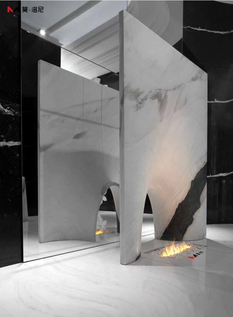 3D霧化壁爐