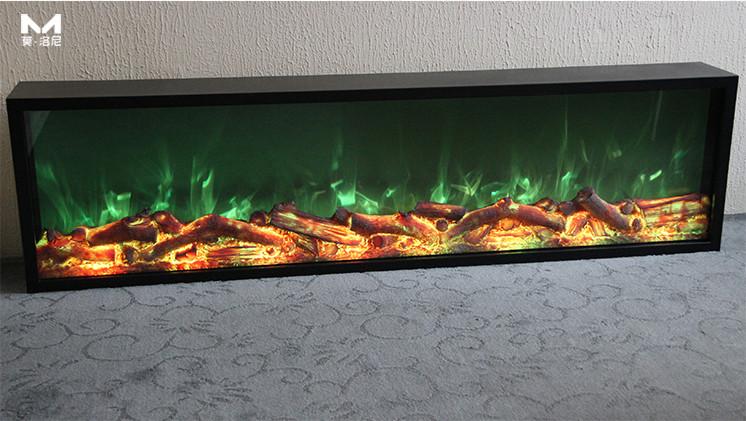 多彩电壁炉芯