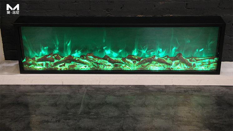 样板间壁炉