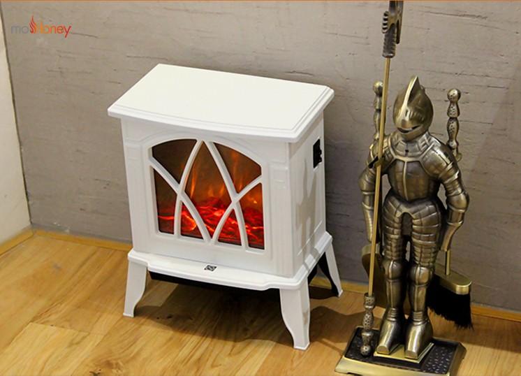 YN-F5 独立取暖电壁炉黑白双色