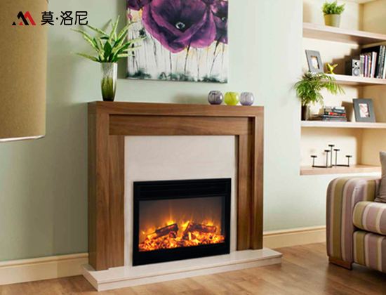 moloney/莫洛尼品牌YN-750嵌入式电壁炉芯(卧室壁炉)
