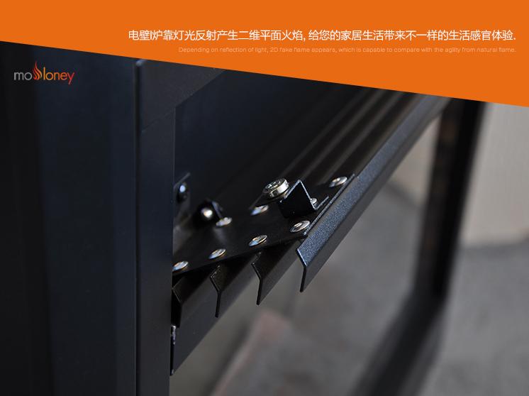YN-Q02小面板電壁爐芯(客廳壁爐)