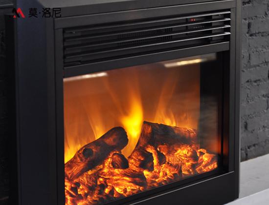 YN-Q02大面板斜边电壁炉芯(客厅壁炉)