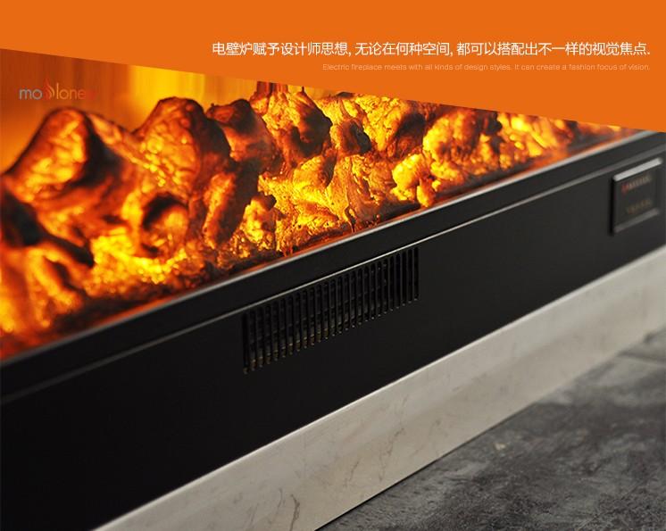 YN-1200取暖電壁爐芯(私家會所壁爐)