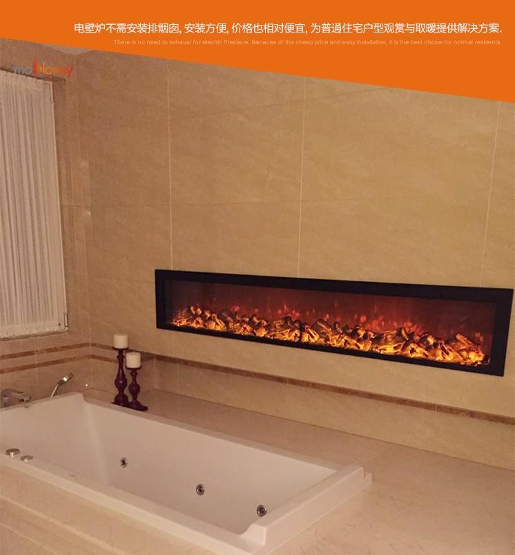 YN-2000觀賞電壁爐芯(樣板間壁爐)