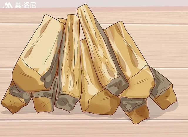 懂这四个方面,淋雨受潮的木材仍旧是壁炉好的燃料