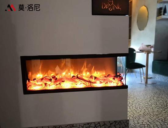 【上海市】東方之門業主采購我司定制電壁爐