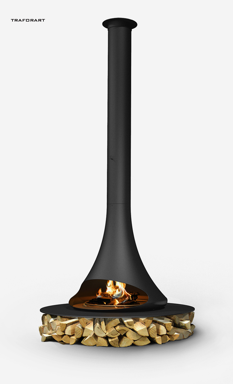 莫洛尼壁炉