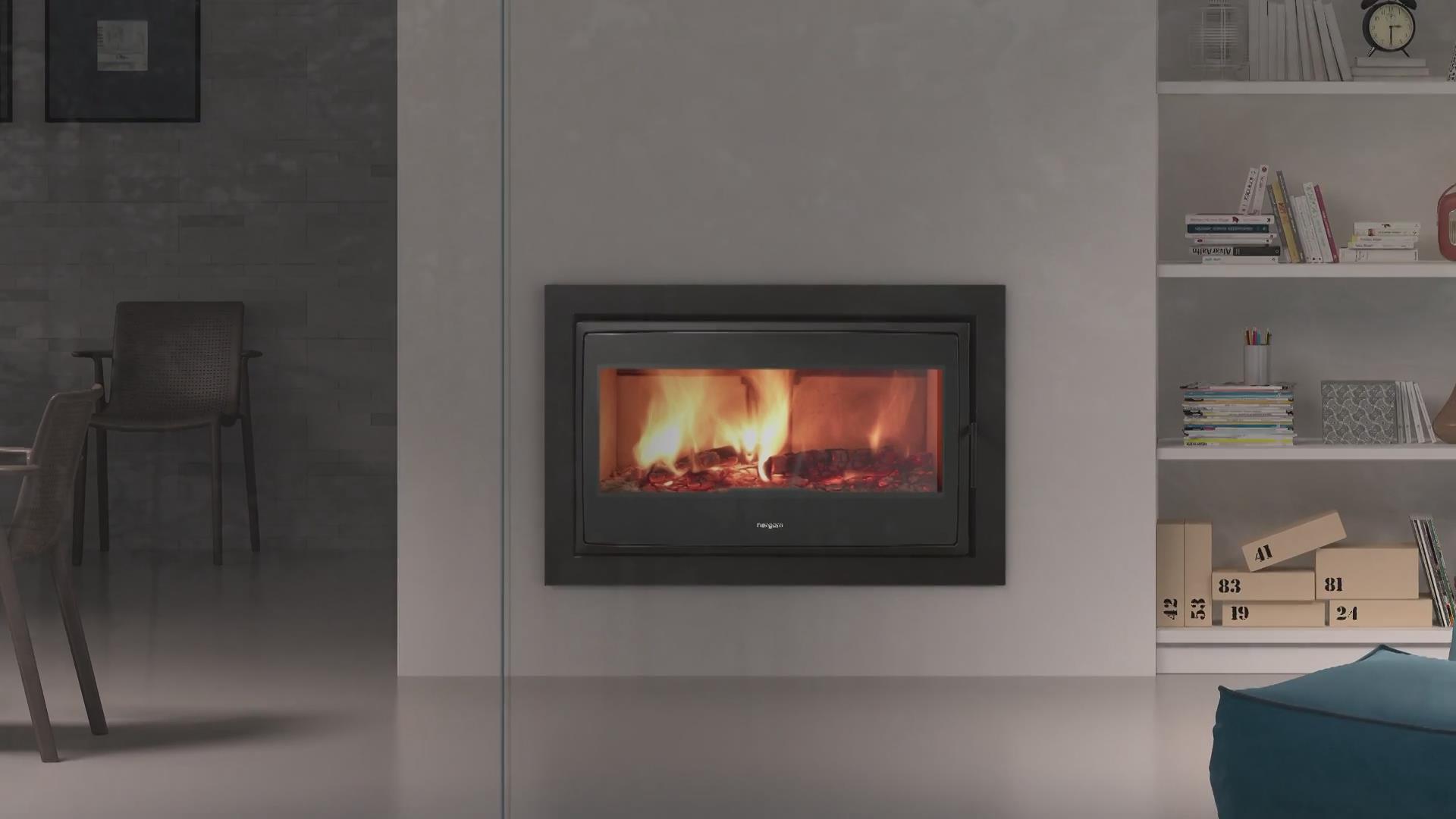 Nature高端系列燃木壁炉