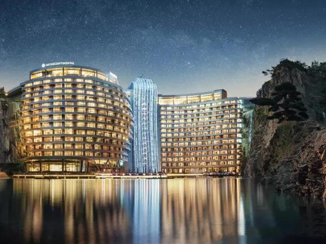耗时12年,狂砸20亿,上海新地标世茂深坑酒店终于开幕了!