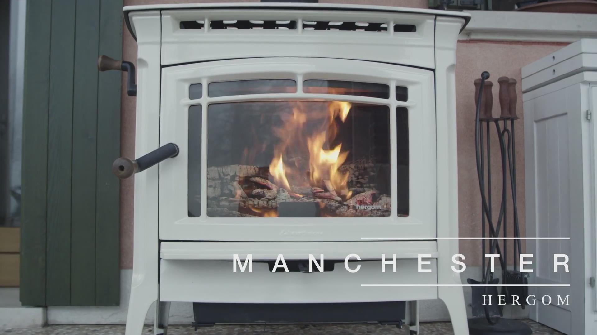 多系列燃木壁炉实景展示