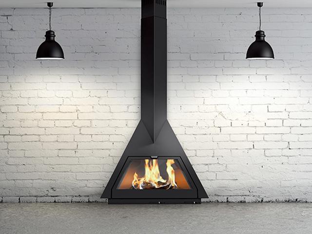 """把壁炉挂起来后,我家成了小区里的""""样板间"""""""