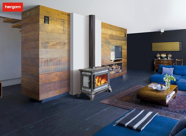 安有真火壁炉的出租屋,也能够去家千万里,使客至如归。