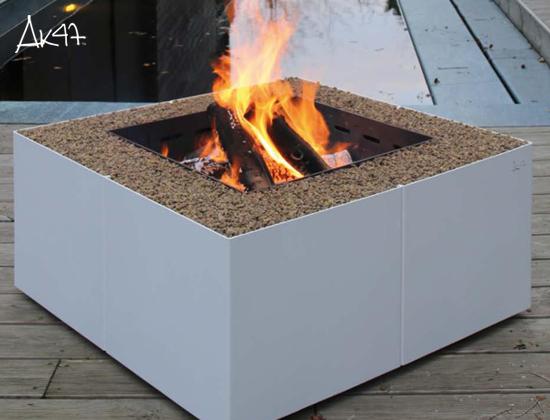 Dado 户外燃木壁炉