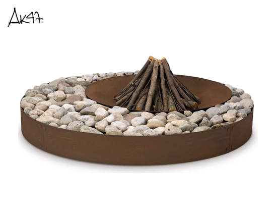 Zen 户外燃木壁炉