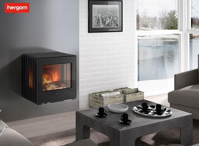 如何衡量真火燃木壁炉的效率?