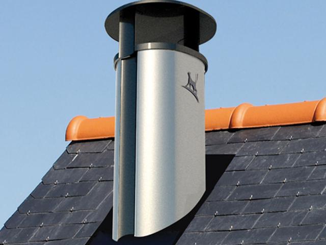 壁炉烟囱能直接通过厨房烟道铺设吗?
