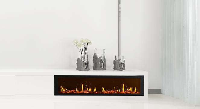 现代化电壁炉的四大特点,足以打动每一位设计师