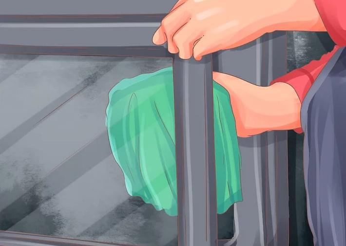 如何清洁真火壁炉玻璃门?
