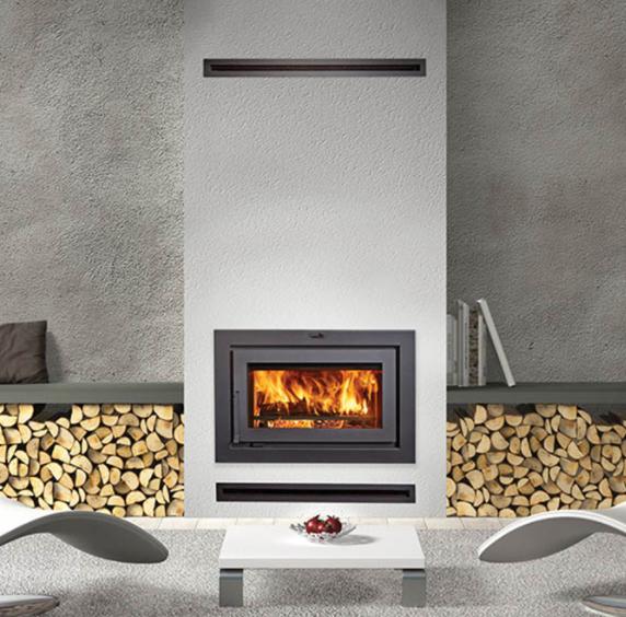 30㎡的會客廳到底能安裝什么樣的燃木壁爐?