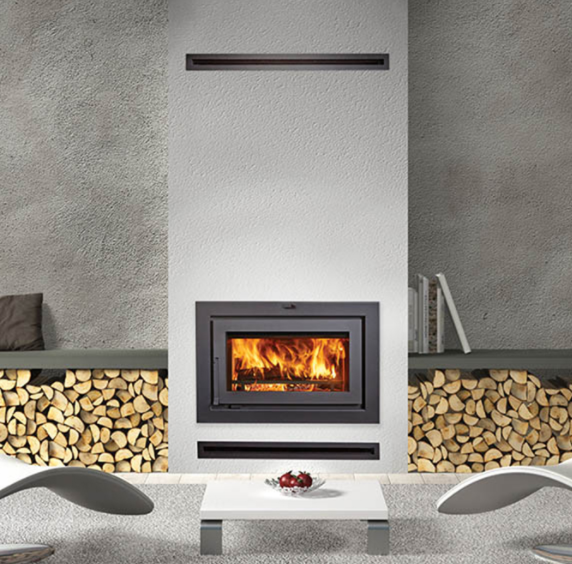 30㎡的会客厅到底能安装什么样的燃木壁炉?