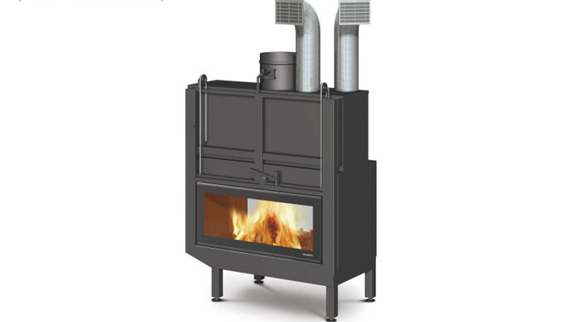 如何正確的安裝燃木壁爐煙囪彎頭?