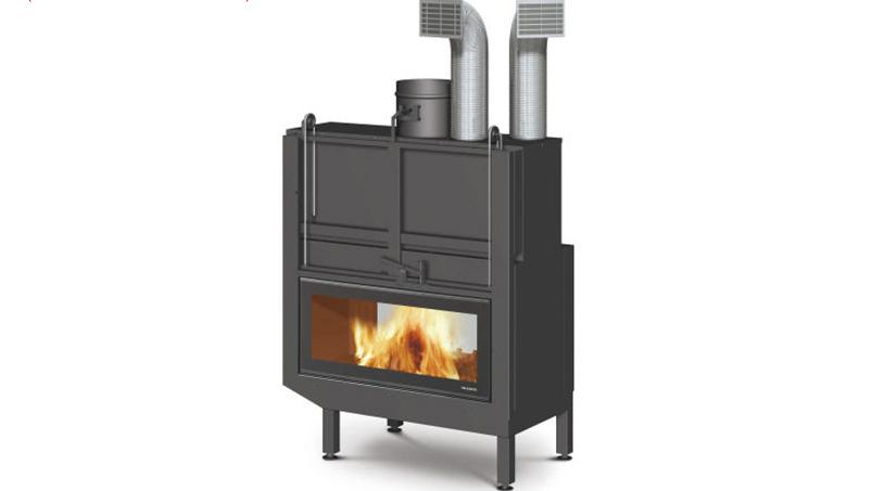 如何正确的安装燃木壁炉烟囱弯头?