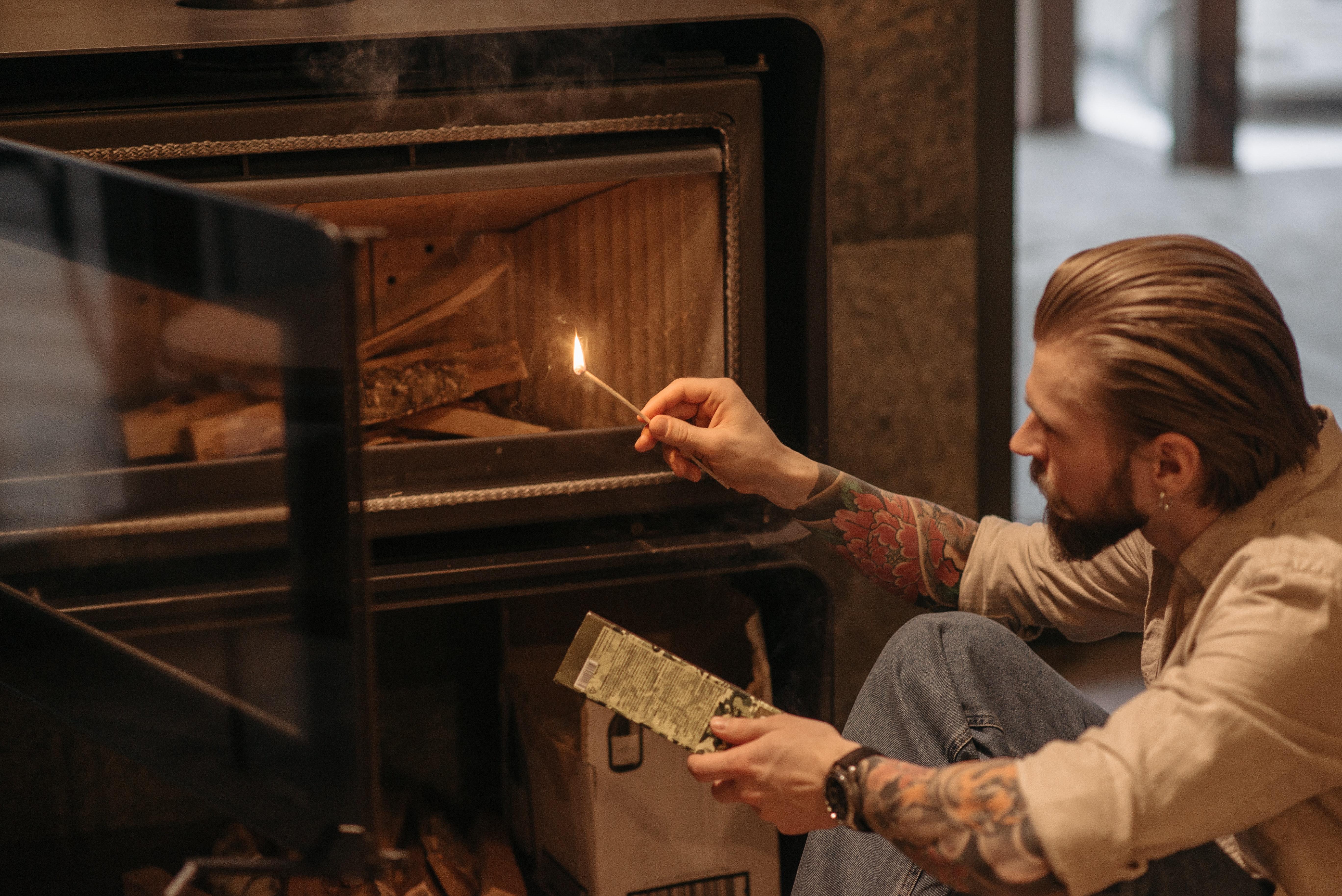 室內設計篇:壁爐架與真火壁爐