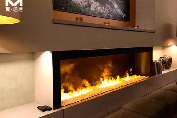 【上海】万达瑞华酒店订购我司19套3D雾化壁炉