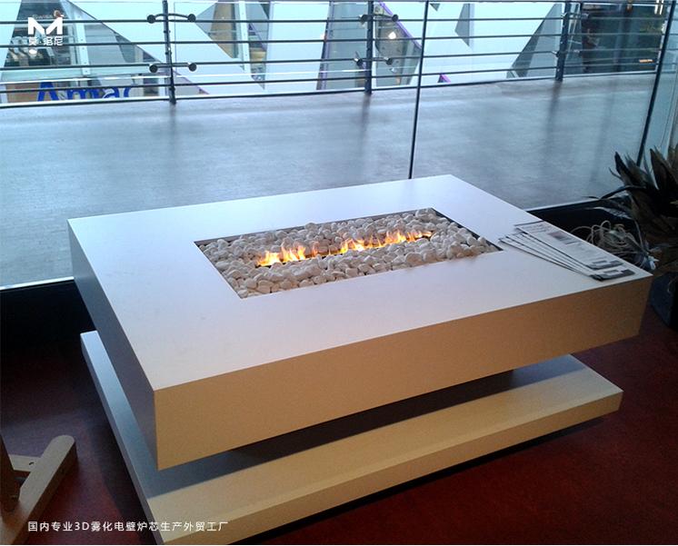 3D雾化壁炉照片