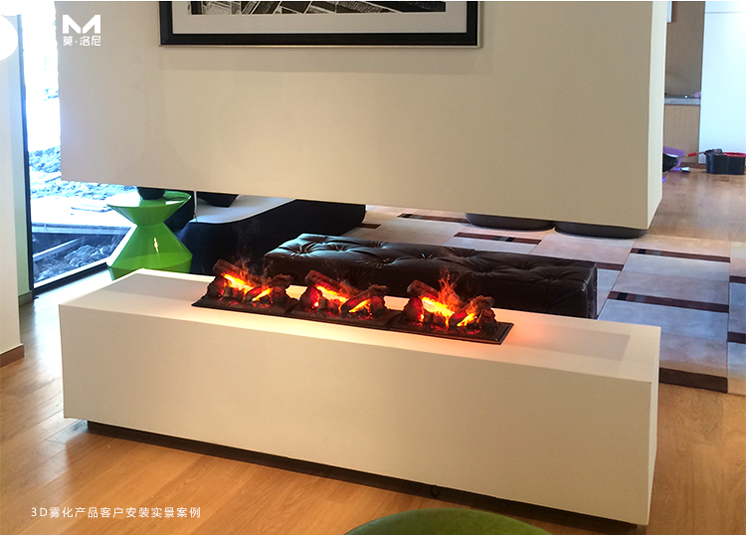 中国3D雾化壁炉