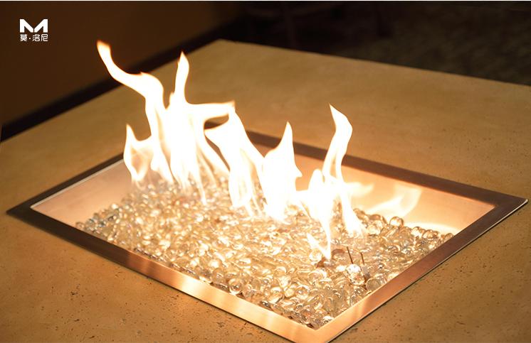 景观燃气壁炉