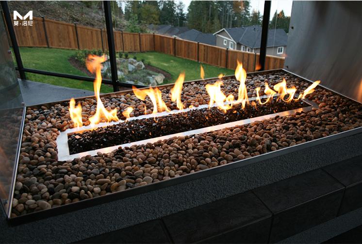 独立式燃气壁炉